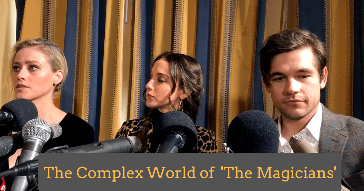 Olivia Taylor Dudley & Jason Ralph Discuss Complex Universe of 'The Magicians'